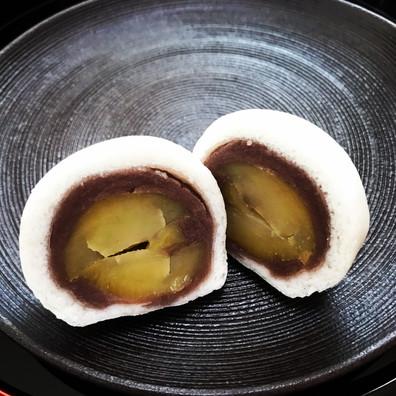 栗薯蕷饅頭