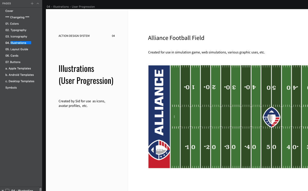 AAF Action Design System
