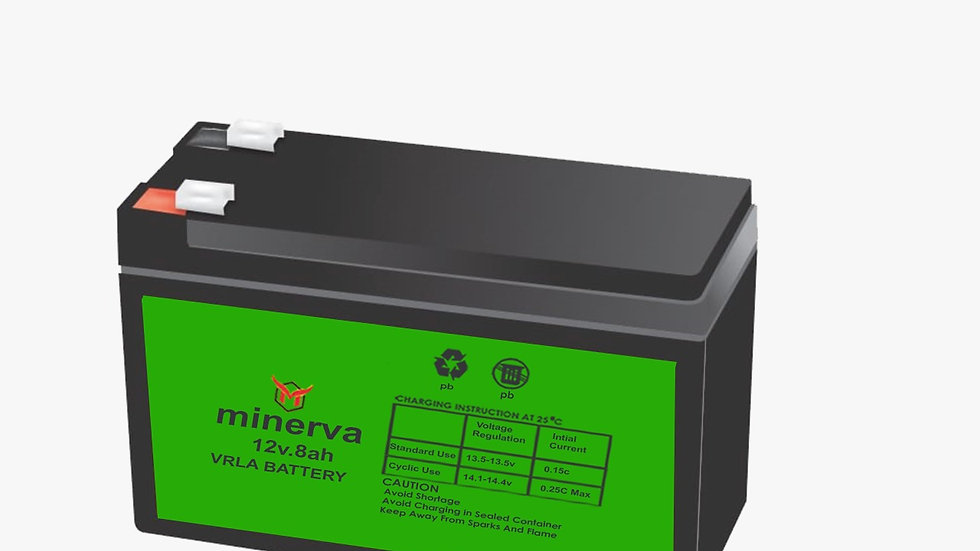 Minerva Spray Pump Battery 12V 8Ah