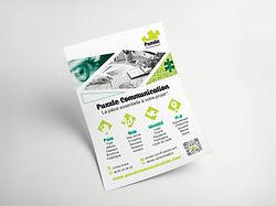 flyer affiche dépliant brochure catalogue mise en page création publicité Vosges