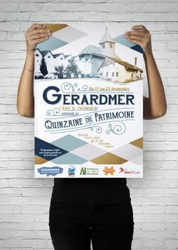 Affiche Ville de Gérardmer