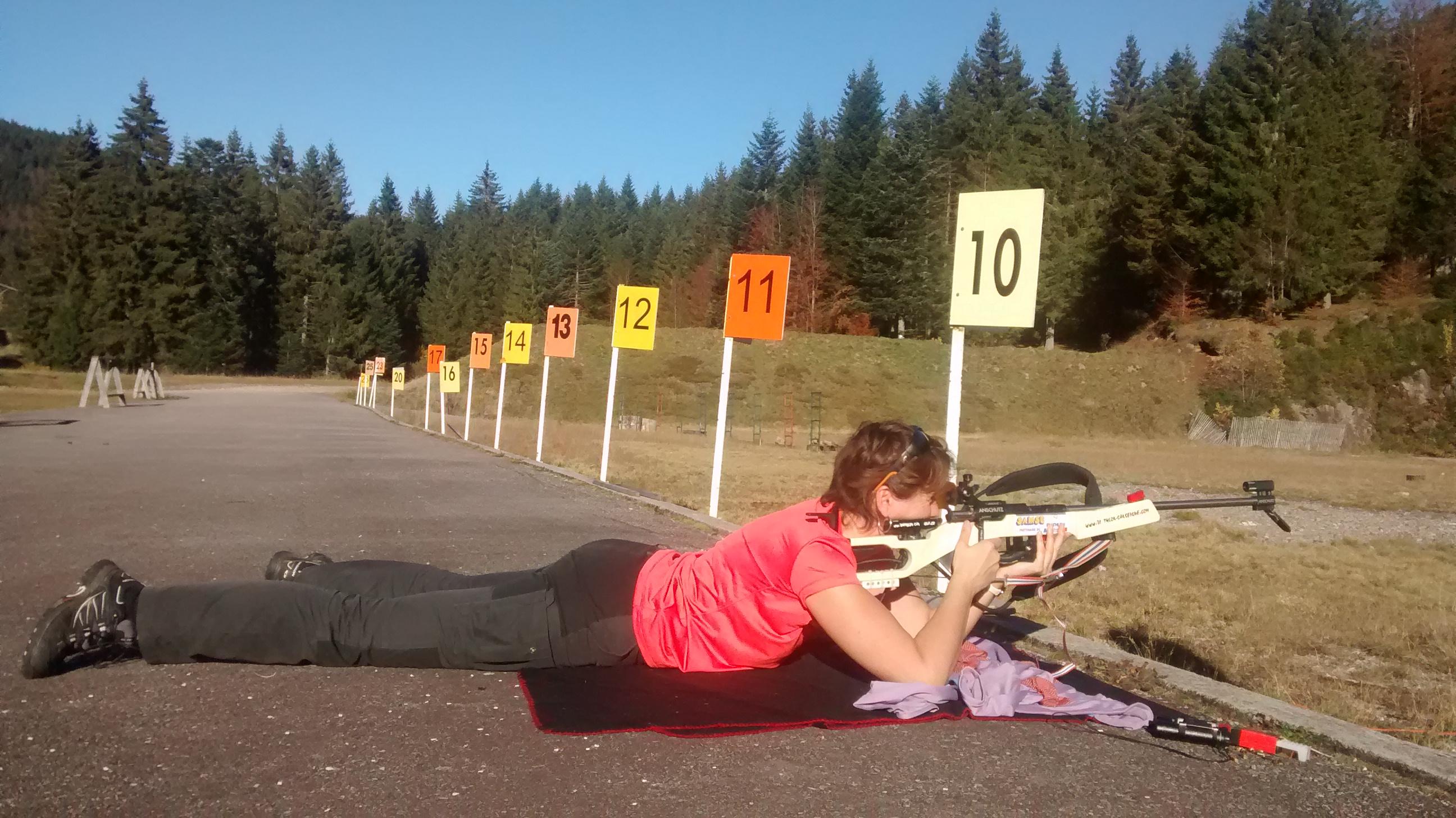 Biathlon Vosges Gérardmer