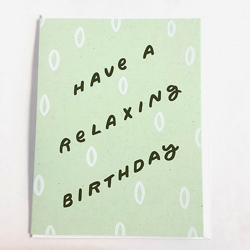 Relaxing Birthday (WP)