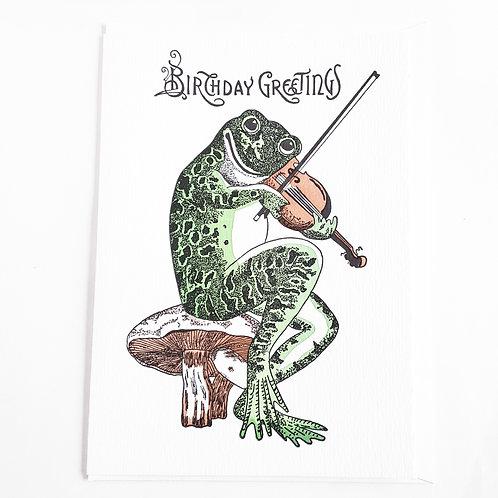 Fiddler Frog Birthday