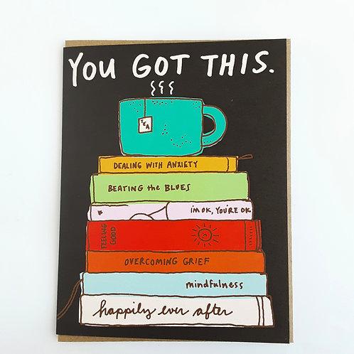 You Got This tea & books
