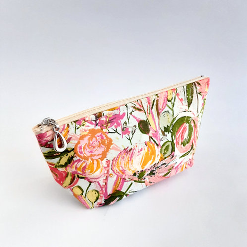 Cosmetic Bag- Splashy Floral