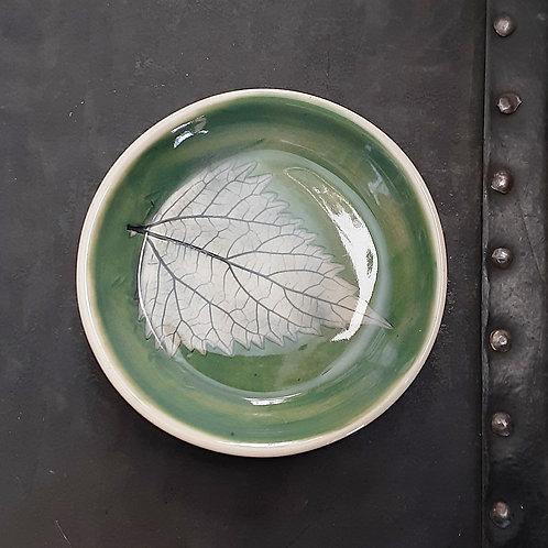 Pressed Leaf Dish #2