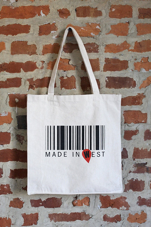 Tote Bag, MADE IN WEST