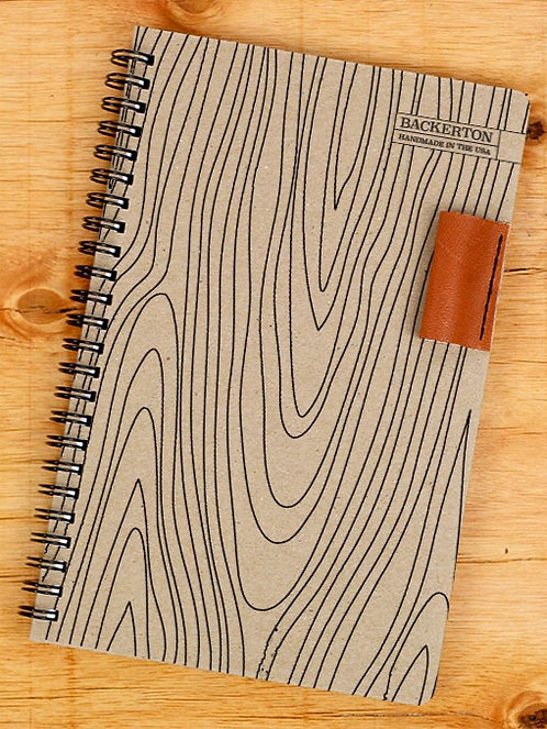 Spiral Notebook with Pen Loop