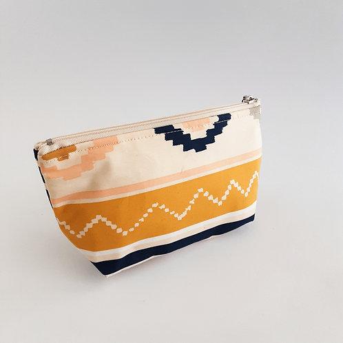 Cosmetic Bag- Terracotta Southwestern