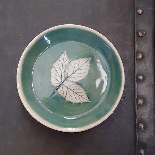 Pressed Leaf Dish #9
