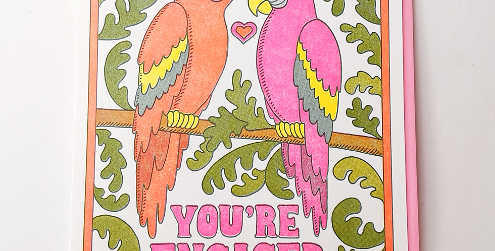 Engaged- parrots