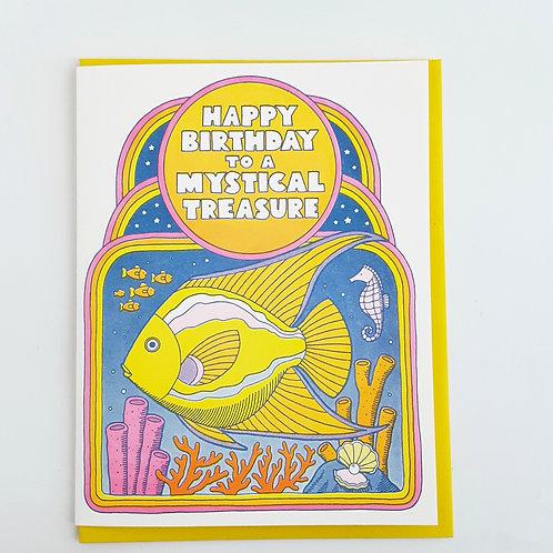 Happy Birthday to a Mystical Treasure fish