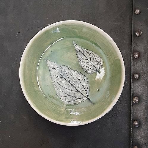 Pressed Leaf Dish #7