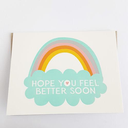 Hope You Feel Better Soon rainbow