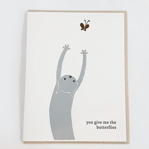 You Give Me Butterflies cat