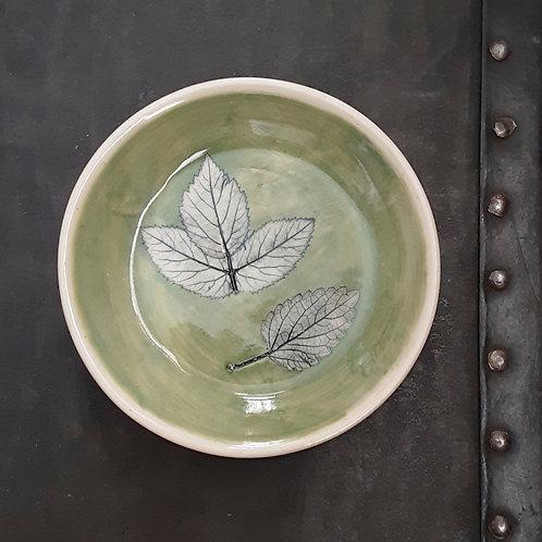 Pressed Leaf Dish #14