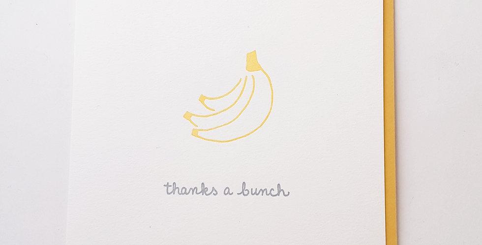 Thanks a Bunch bananas