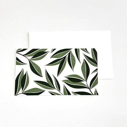 Mini Note Cards, Foliage