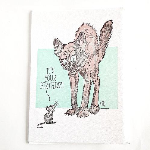Scaredy Cat Birthday