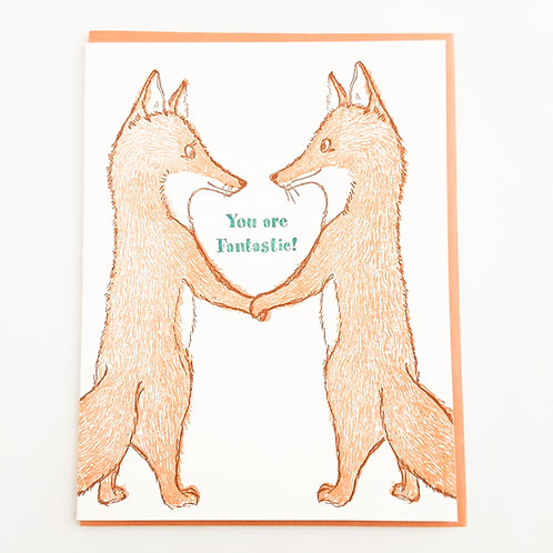 You are Fantastic foxes