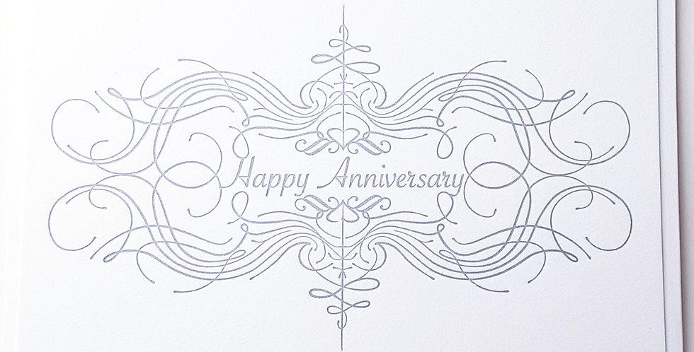 Anniversary flourish