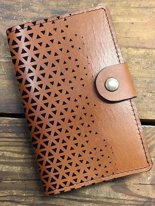 Leather Notebook with Snap