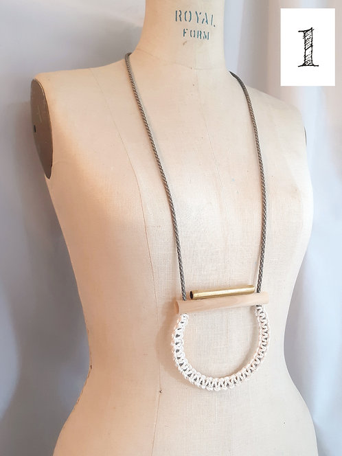 Assorted Chunky Necklaces by Habitual Threads