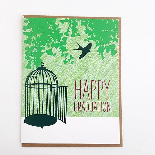 Happy Graduation birdcage