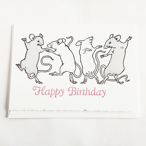 Dancing Mice Birthday