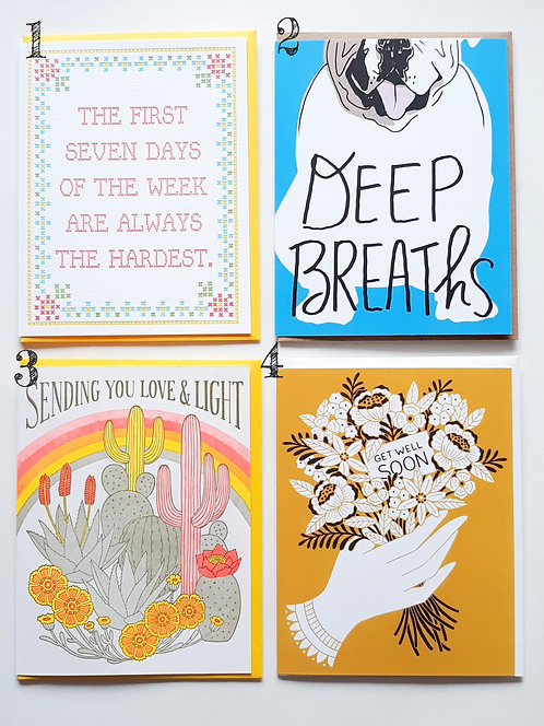 Cards for Sympathy & Support
