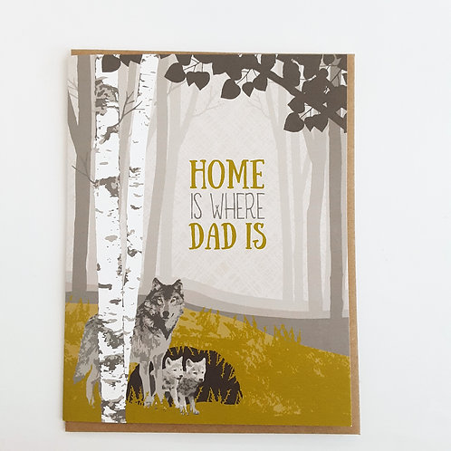 Home is Where Dad Is wolves