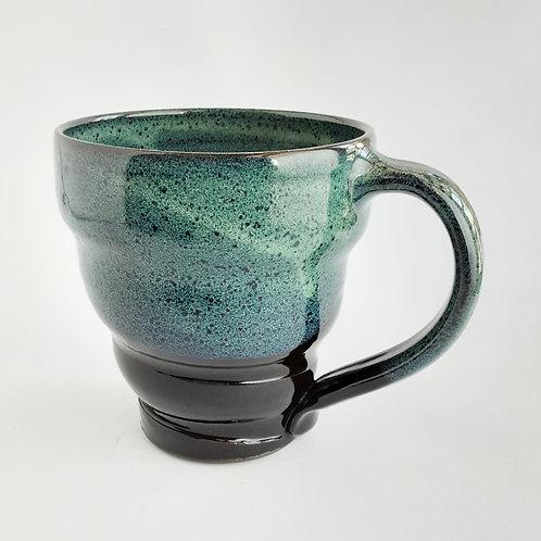 Large Green/Black Mug #7