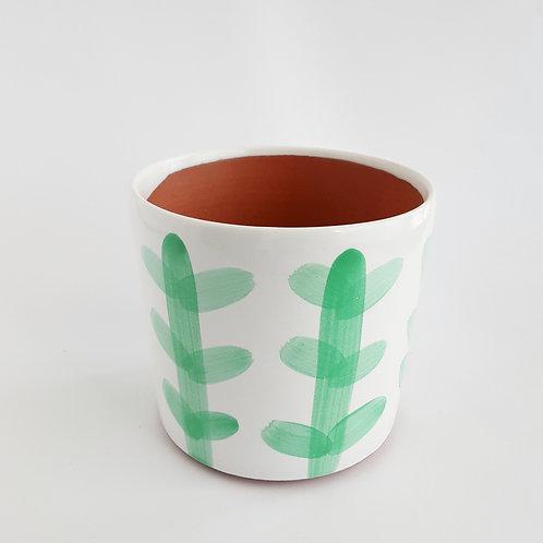 "Mint Cacti 6"" Planter"
