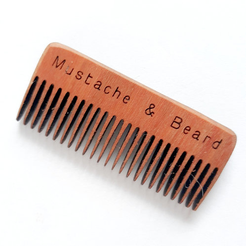 Mustache & Beard Comb