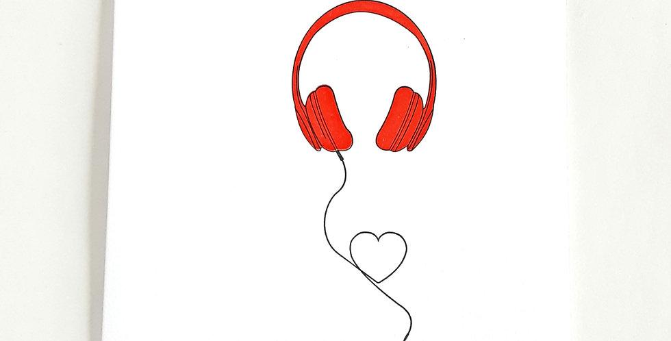 Heart Beats headphones