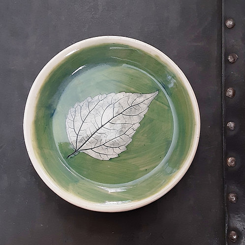 Pressed Leaf Dish #13