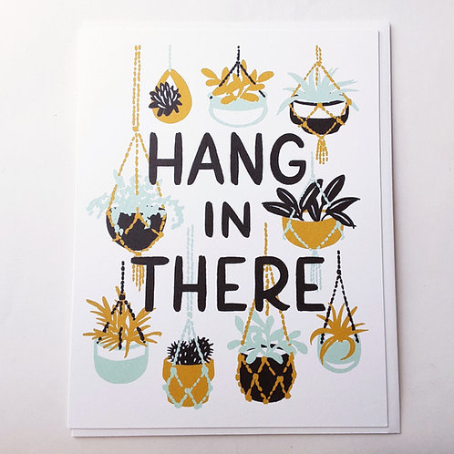 Hang In There houseplants