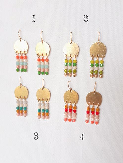Beaded Earrings by Nest