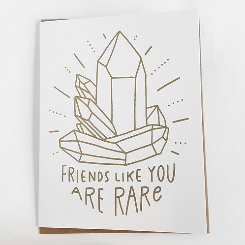 Friends Like You Are Rare
