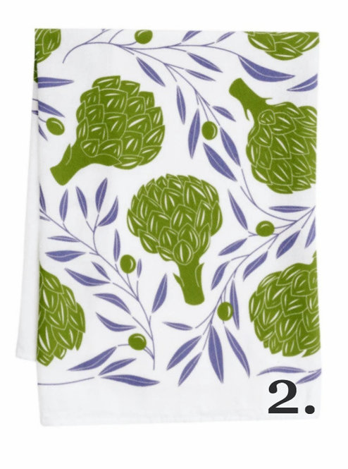 Assorted Kitchen Towels by Hazelmade