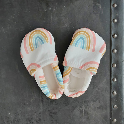Baby Shoes- Rainbows