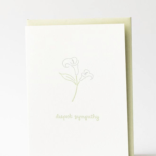 Deepest Sympathy lily