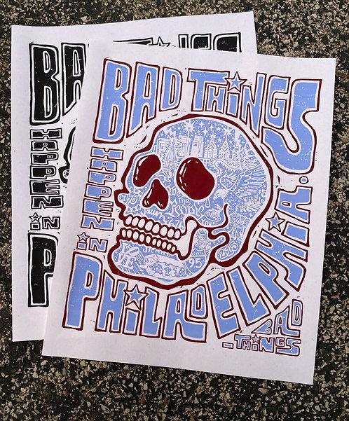"""""""Bad Things"""" Print, 16x20"""