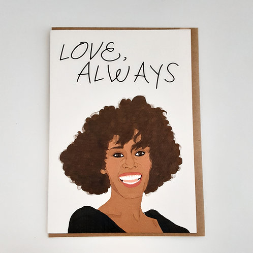Love, Always (Whitney Houston)