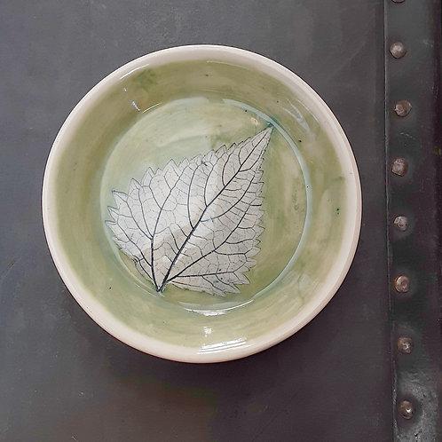 Pressed Leaf Dish #12
