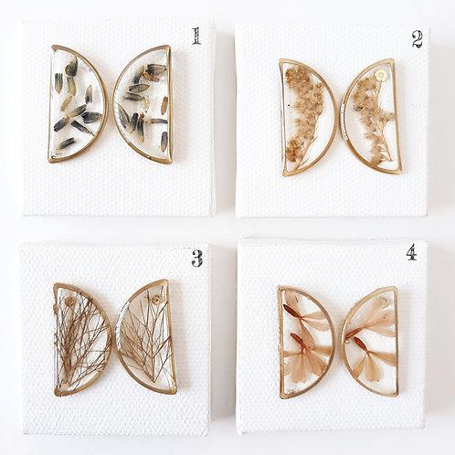 Preserved Botanical Earrings