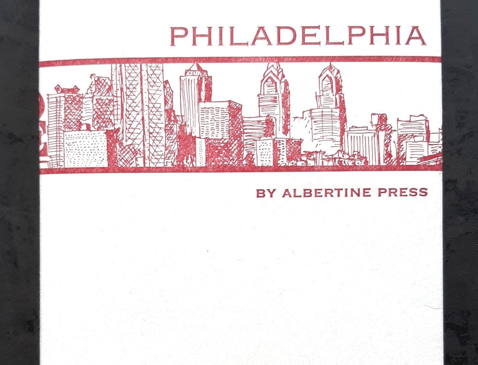 Philadelphia Notecard Set