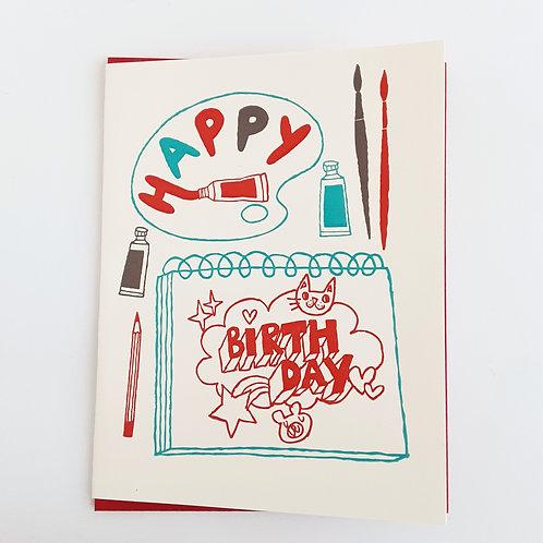 Happy Birthday doodles