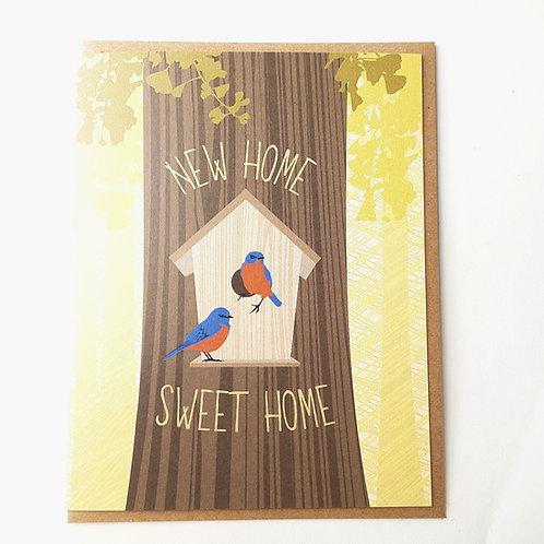 New Home birdhouse
